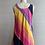 Thumbnail: 1970s Rainbow Tent Dress - Medium