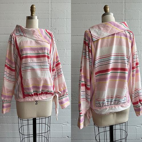 1980s Stripe Top - Large