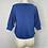 Thumbnail: 1980s Blue Short Sleeve Sweater - Medium
