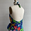 Thumbnail: 1970s Floral Halter Wrap Dress - Medium