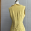 Thumbnail: 1940s Yellow Corduroy Dress - Medium