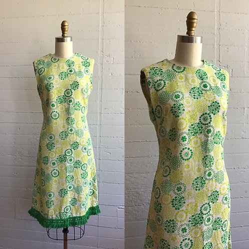 1960s Dotted Mini - Medium