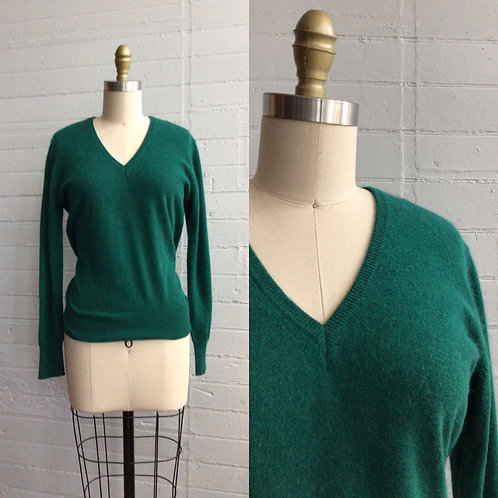 1990s Green Sweater - Large