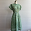 Thumbnail: 1950s Green Day Dress - Large