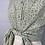 Thumbnail: 1990s Green Floral Blouse - Large