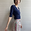 Thumbnail: 1980s Striped High Rise Shorts - Small