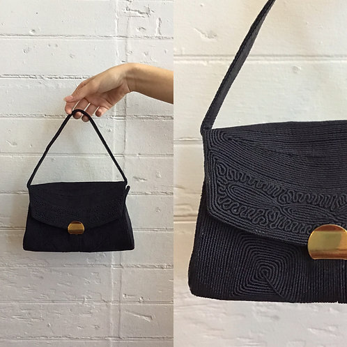 1940s / 1950s Back Corded Purse