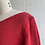 Thumbnail: 1980s Red Cropped Spring Sweater - Small