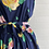 Thumbnail: 1980s does 50s Floral Dress - Large