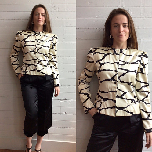 1980s Designer Valentino Jacket and Pants Set - XSmall