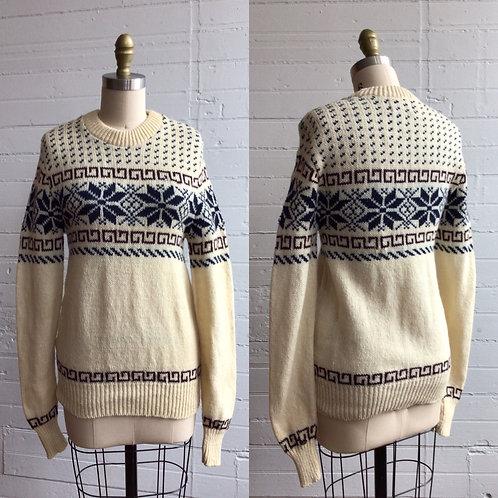 1980s Winter Sweater - Small / Medium