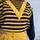 Thumbnail: 1980s Designer Yellow Shorts Set - XS / Small