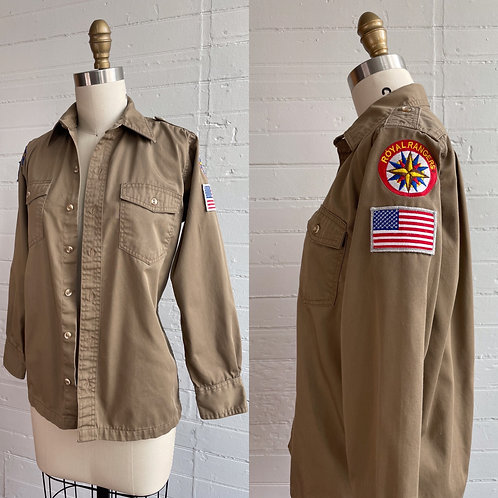 90s Royal Rangers Button Up - Small