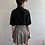 Thumbnail: 1990s Floral Rayon Mini Skirt - Medium