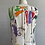 Thumbnail: 1990s Abstract Mini Dress - Small