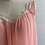 Thumbnail: 1960s Baby Doll Peach Nylon Slip