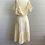Thumbnail: 1970s Bohemian Young Edwardian Cotton Dress - Medium / Large