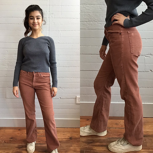 1980s Brown Cords -Large
