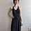 Thumbnail: 1990s Polka Dot Halter Dress -  Small
