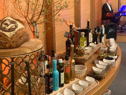 show cooking Animation culinaire Green traiteur bar à huile d'olive angers événements mariages réceptions