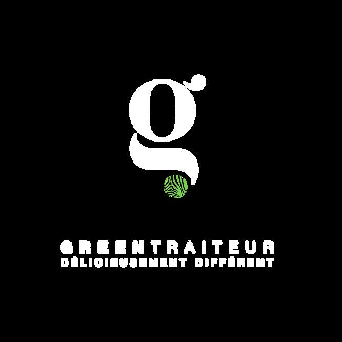 LOGO_GreenTraiteur_Baseline_Blanc_300dpi