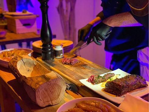 Animations culinaires green traiteur angers événements réception dégustation carpaccio