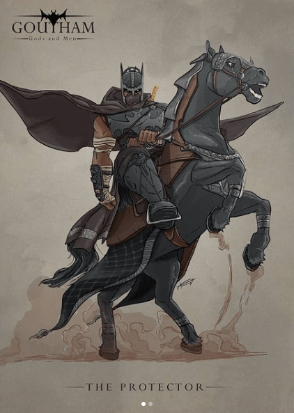The Indian Batman by Anurag Halder