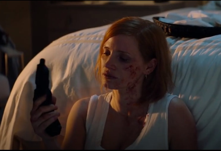 Jessica Chastain as Ava in the Movie