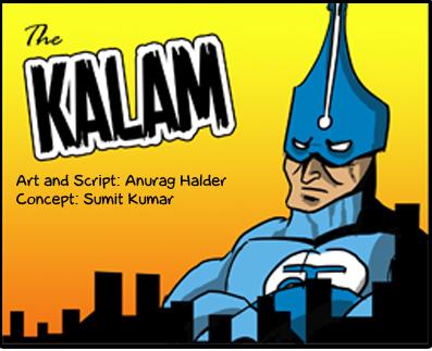 Bakarmax comic kalam by Anurag