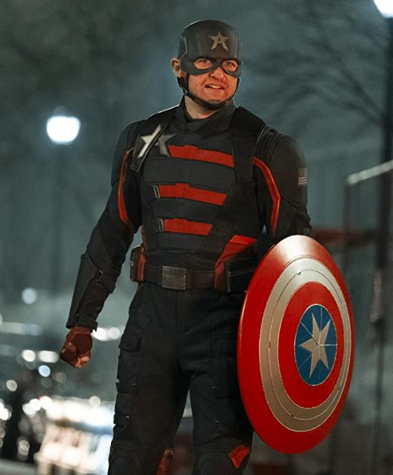 John Walker as Captain America