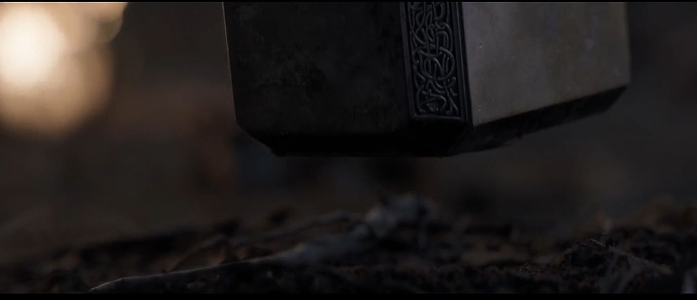 Mjolnir moving to Cap's call