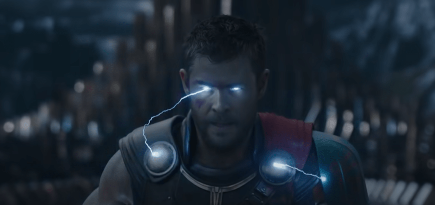 Thor in the Thor 3 trailer