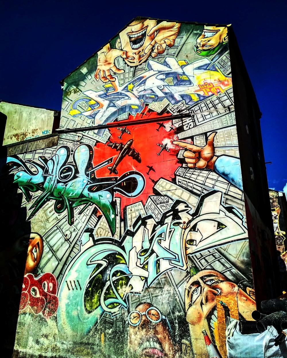 Comic book graffiti