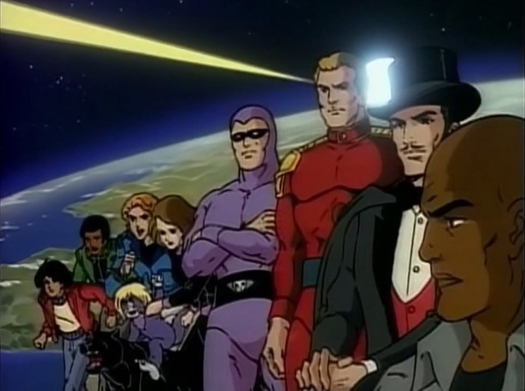 80s and 90s cartoons - Defenders of the Earth