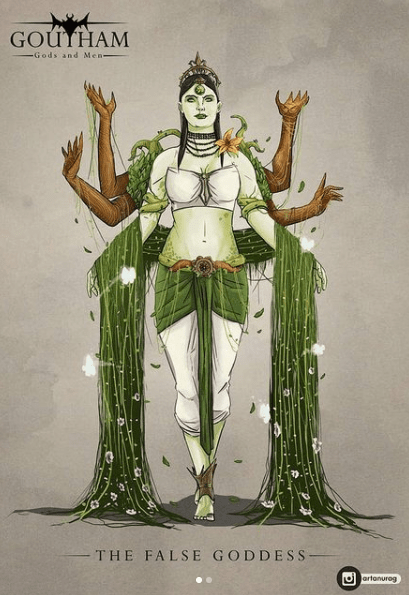 The Indian Poison Ivy by Anurag Halder