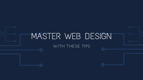 Master Web Design with These Tips