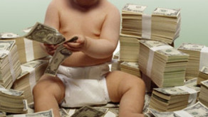Preparing financially for having a baby