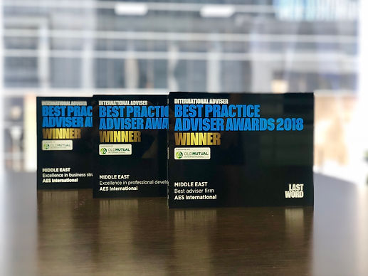 Expert Financial Advice for Expats in Dubai & the UAE | Best Practice Advise Awards 2018 - Winner, AES International