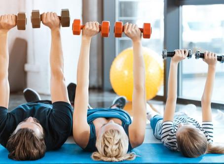 Exercícios físicos na quarentena