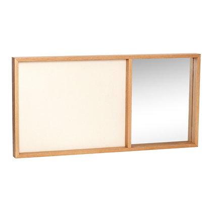 Pinnwand mit Spiegel