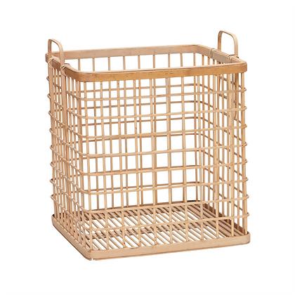Korb Grid aus Bambus groß