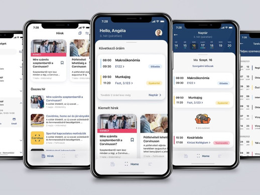 The university is moving to your phone – the MyCorvinus mobile app will be here soon
