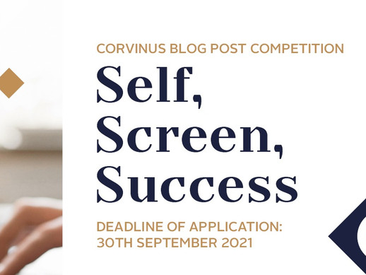 Self, Screen, Success – Blog Post Competition about Digital Communication