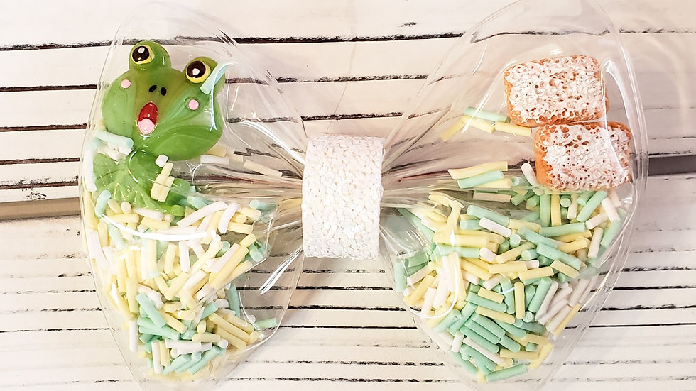 Princess and the Frog Inspired Shaker Hair bow