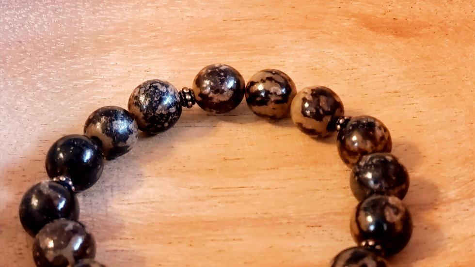 Buri Nut Bead Bracelet