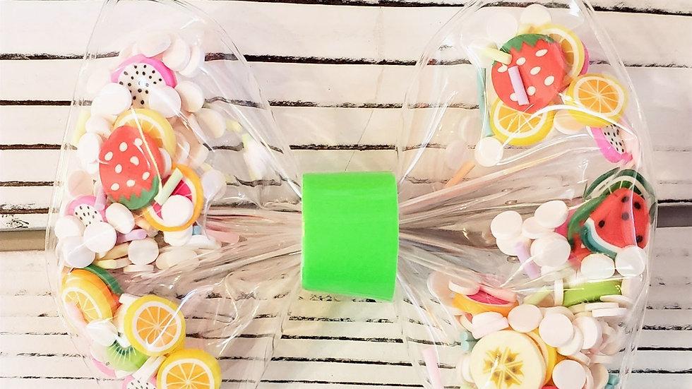 Fruit Salad Shaker Hair bow