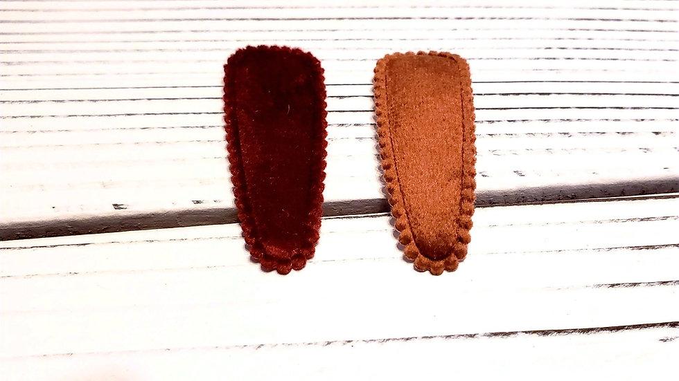 Velvet Fall Hair clips