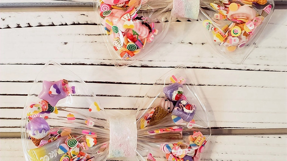 Candy Girl Shaker Hair bow