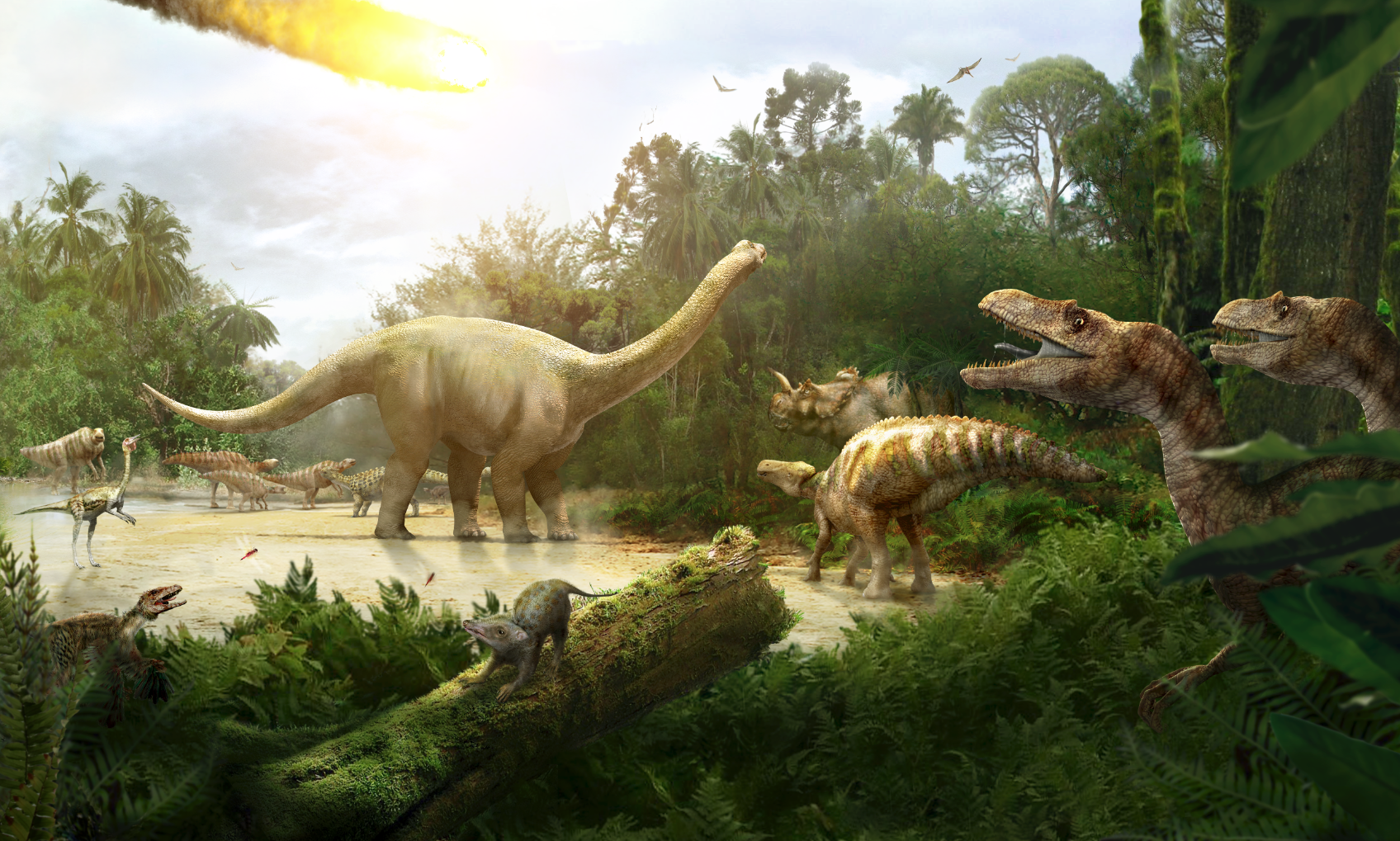 Jon Hughes Cretaceous Scene