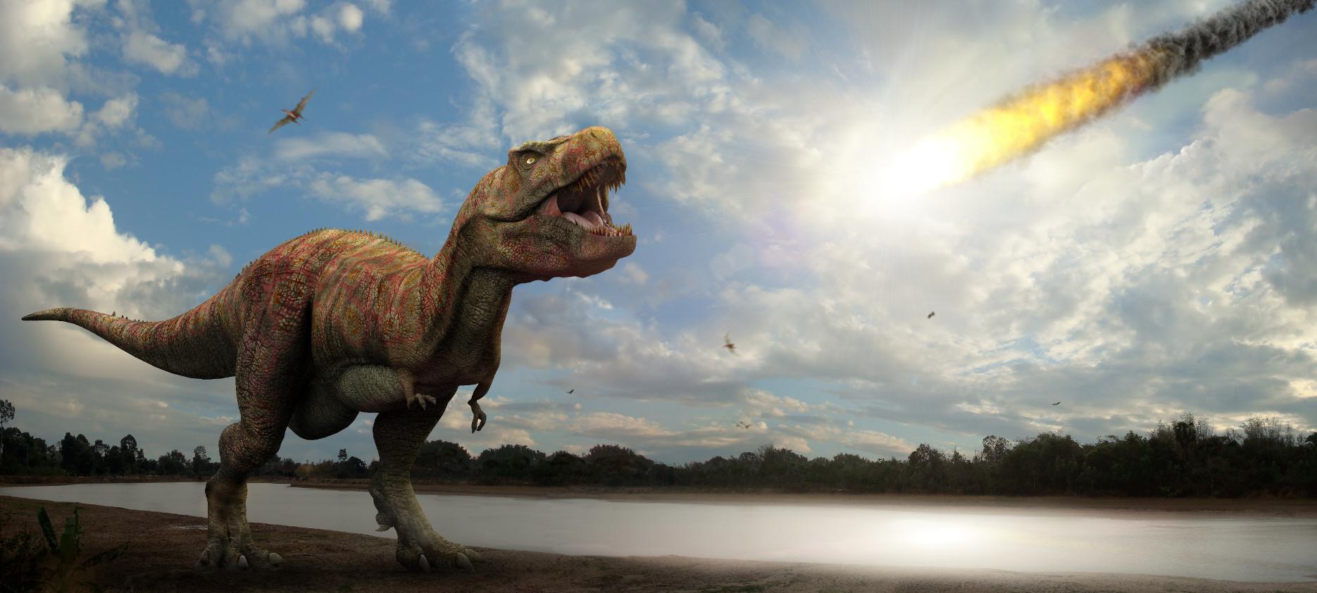 Jon Hughes Tyrannosaurus_scene